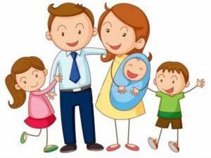 Família desenho